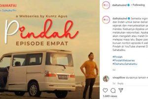 Pindah, Web Series Terbaru dari Daihatsu